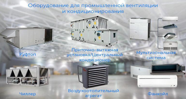 Сравнение систем промышленного кондиционирования
