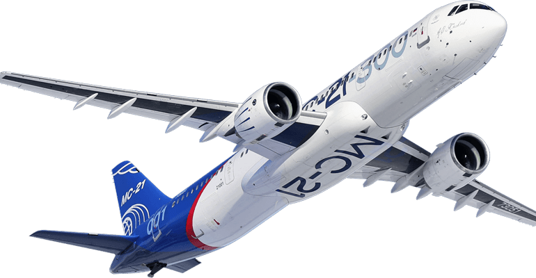 С 2021 года российские авиакомпании получат около 200 самолетов МС-21