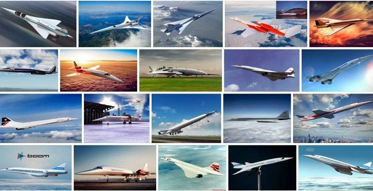 Перспективные разработки сверхзвуковых самолётов будущего.   Часть 3