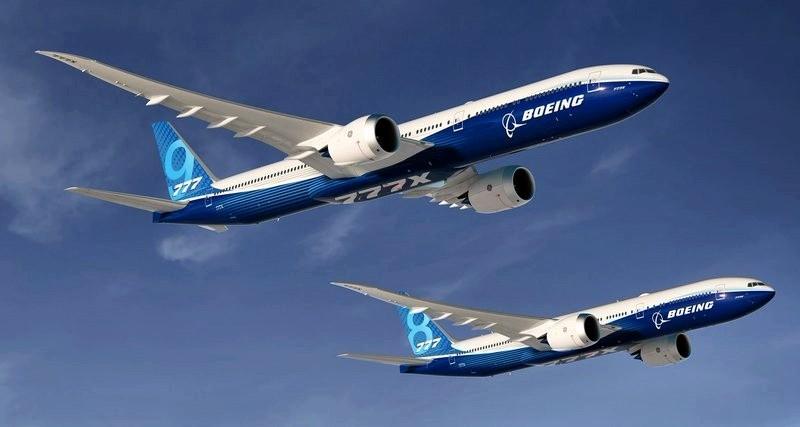 Новый Boeing 777X сломался пополам